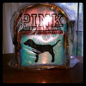 VS PINK iridescent backpack
